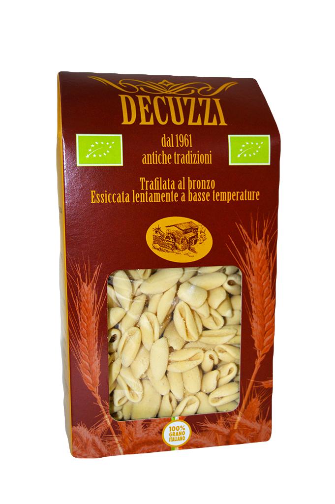 Pasta regionale cavatelli biologica