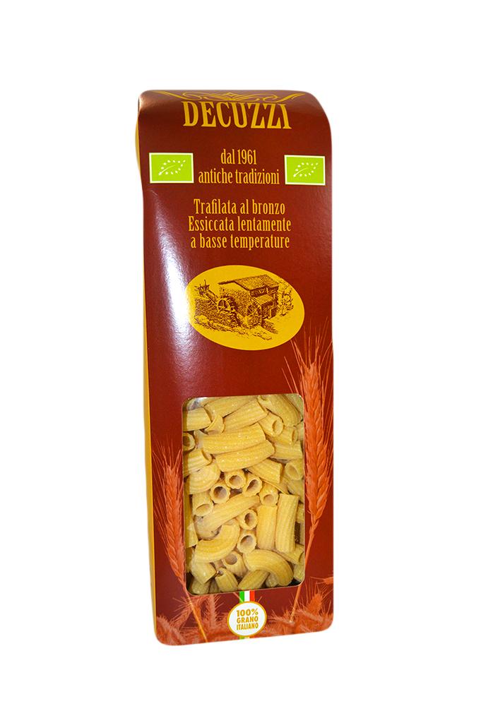 Pasta rigatoni biologica