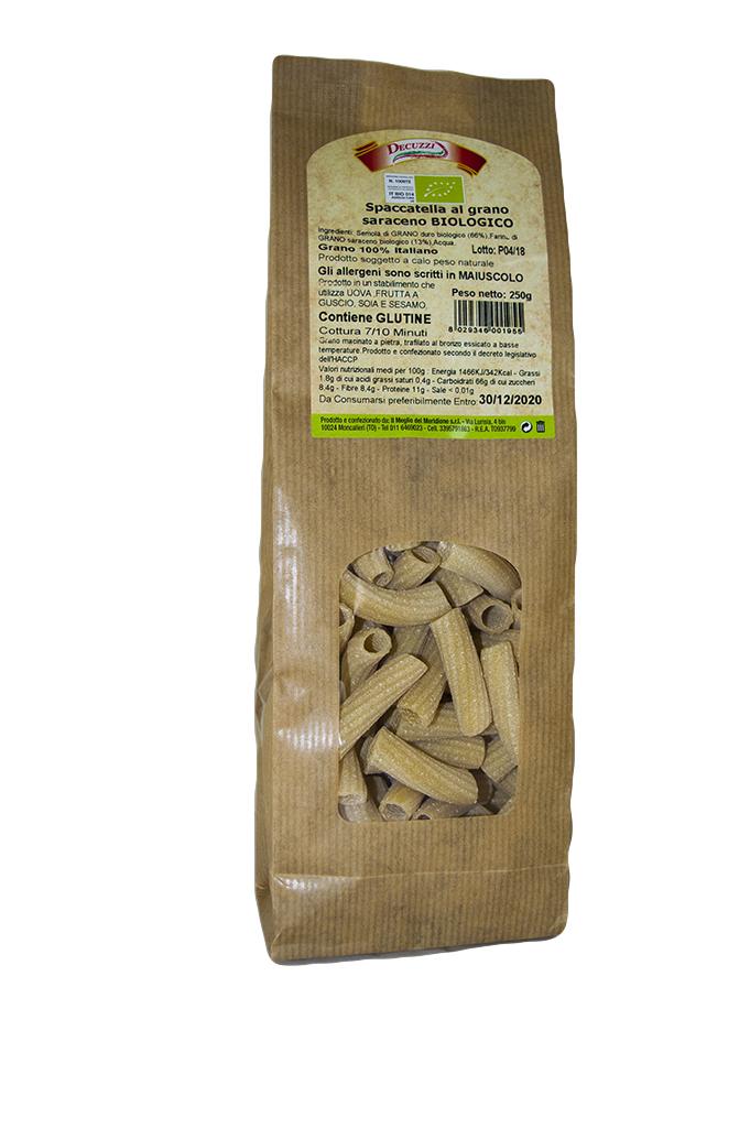 Pasta al grano saraceno biologica